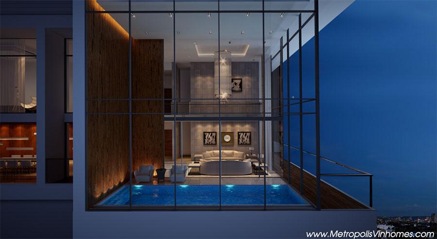 Tầm Nhìn tuyệt đẹp từ căn hộ Vinhomes Metropolis