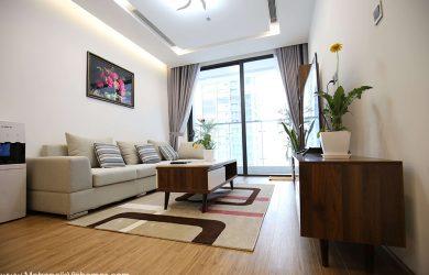 Sofa phòng khách - căn hộ 3 ngủ Metropolis M1 cho thuê 2000$