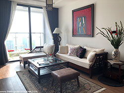 Cho thuê căn hộ 3 ngủ metropolis M1 đủ đồ