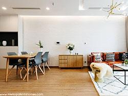 Cho thuê căn hộ 2 ngủ Metropolis M2 đủ đồ